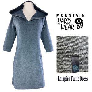 MOUNTAIN HARDWEAR Blue Gray LAMPIRA Tunic Dress
